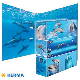 Dossier A4 Herma Dolphins 7167