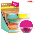 Porta-Clips Fluor Collection Apli c/ 50 Clips