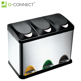 Balde do Lixo 45 Litros Q-Connect KF16550