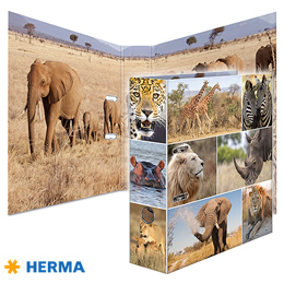 Dossier A4 Herma Africa Animals 7168
