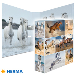 Dossier A4 Herma Horses 7164